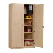 Lockable Tall Storage Cupboard