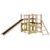 Indoor Climbing Starter Set - Frame, Slide and Ladder