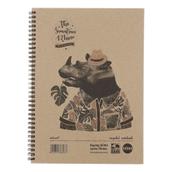 Rhino Recycled Hardback Notebooks - A4 - Pack of 5