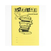 A5 Reading Record Book, 32 Pages, Yellow - Pack of 100