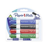 Paper Mate Dry-Wipe Markers - Pack of 4
