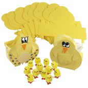 Easter Chick Craft Boxes