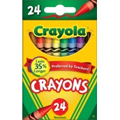 Crayola Crayons - Pack of 24