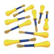 Jumbo Non-Roll Brushes - Pack of 10