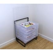 20 Shelf Spring Loaded Floor Drying Rack with Wheels