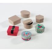 Papier Mâché Boxes - Pack of 12