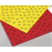 Large PVC Splash Mat - Yellow
