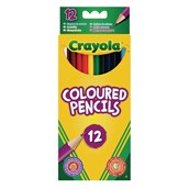 Crayola Colouring Pencils - Pack of 12