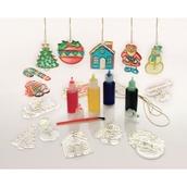 Glass Painting Christmas Standard Set