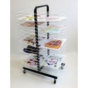 40 Shelf Mobile Drying Rack - Small