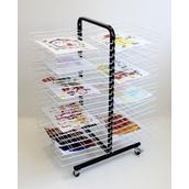 40 Shelf Mobile Drying Rack - Large
