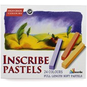 Inscribe Soft Pastels - Full Size - Pack of 24