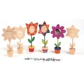 Wooden Flower Pot Frames - Pack of 12