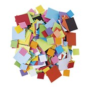 Mosaic Coloured Squares - Pack of 7500