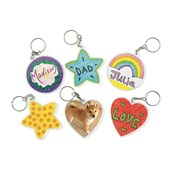 Create Your Own Key Chains - Pack of 12