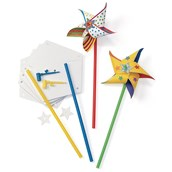 Decorate Your Own Pinwheels - Pack of 24