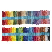 Classmates Assorted Embroidery Skeins 8m - Pack of 100