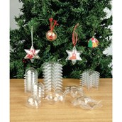 Christmas Collage Bauble - Pack of 12