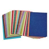 Glitter Paper - A4 - Pack of 30