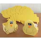 Easter Chick Boxes - Pack of 30