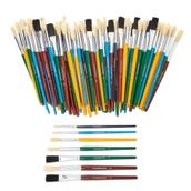 Classmates Short Paint Brush Bumper Pack - Assorted Sizes - Pack of 100