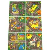 Roadway Play Mat Squares