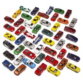 Authentic Die-Cast Vehicles - Pack of 50