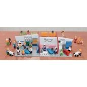 Sri Toys Wooden Shopping Centre Play Set