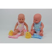 Clothed Newborn Doll - White Girl