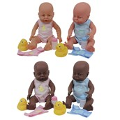 Clothed Newborn Dolls Offer - Pack of 4