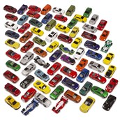 Authentic Die-Cast Vehicles - Pack of 75