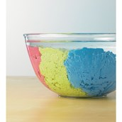 Super Sand - Yellow, Red and Blue