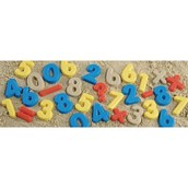 Numbers and Operations Sand Moulds
