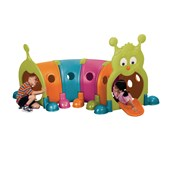 Wormy Play Tunnel 4 Section
