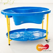 Adjustable Sand and Water Play Tables - Blue