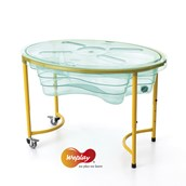 Adjustable Sand and Water Play Table - Clear