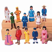 Lakeshore Learning Kids Around the World Block Play People