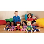 Giant Multicultural Hand Puppets - Black Girl