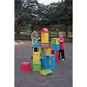 WePlay Stack n Stack large building blocks - 68 pieces