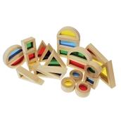 TickiT Rainbow Block Set - Pack of 24