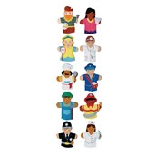 Occupational Hand Puppets - Pack of 10