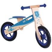 My First Wooden Balance Bike Blue