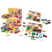 Bigjigs Toys Pin A Shape Pack