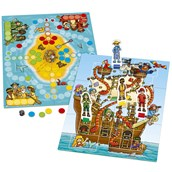 Orchard Toys Pirate Snakes and Ladders and Ludo