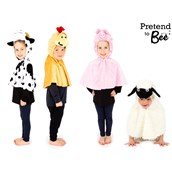 Farmyard Capes - Pack of 4