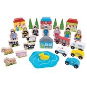 Bigjigs Toys Trackside Accessory Set