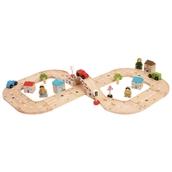 Bigjigs Toys Figure of Eight Roadway Set