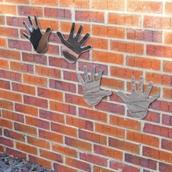 Safety Mirror Hands Set