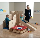 Nursery Wooden Gym Complete Set - Age 2+