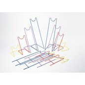 Channelling Wire Frame Stand - Folded Pack of 8